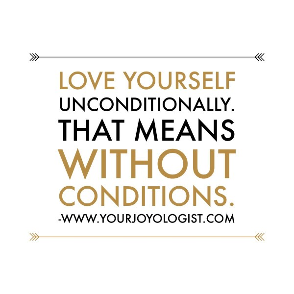 What Does Love You Unconditionally Mean